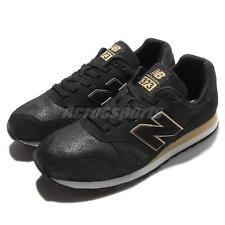 New Balance WL373NG B Black Gold Women Running Shoes Sneakers Trainers WL373NGB