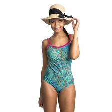 Trespass Lotty Womens One Piece Swimsuit Padded Swimwear