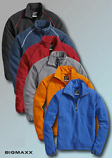 KORSAR CROSSOVER Hombre Camisa Forro Polar Suéter Troyer Seis Colores Talla XS A