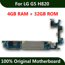 New Arrival Motherboard For Original LG G5 H820 32GB Unlocked Mainboad With