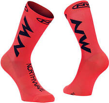 Calzini Estivi Northwave EXTREME AIR Lobster Orange/Black/SUMMER SOCKS NORTHWAVE