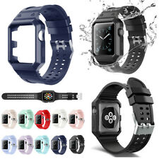 Replacement Sport TPU Wrist Band Strap Bracelet For Apple Watch iWatch 38mm/42mm