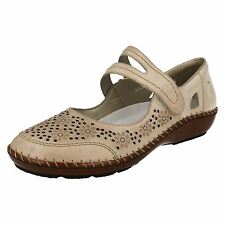 Donna Rieker 44875 Mary Jane basse a strappo Cinghia casual floreale