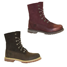 Timberland EK Authentics Teddy Boots Waterproof Winter Ankle Boots Warm
