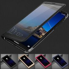 Flip Smart Cover Clear View PU Leather Stand Case Cover Huawei P Smart Enjoy 7S