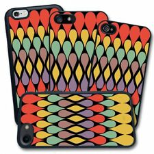 Cover per Apple iPhone - Stampa Vintage Texture Gocce Colorate