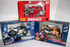 COLLECT DIE-CAST MODEL MOTORBIKES some boxed - click - Select  to browse / order