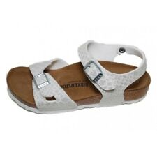 Birkenstock 1008286 Rio Kids Magic Snake White Sandalo