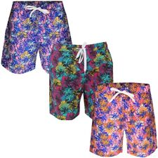 Soulstar Hawaiian Summer Swimming Shorts  Mens Size