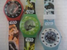 Star Wars quartz watch hands Darth Vader Yoda Storm Trooper adjustable party bag