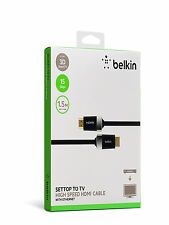 Belkin HDTV high-speed cavo HDMI con Ethernet 15Gbps FULL HD 10810p ORO