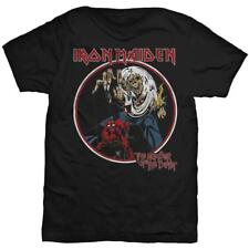 IRON MAIDEN OFFICIAL LICENSED  T - SHIRT : NUMBER OF THE BEAST + GIFT