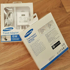 Genuine Fast Charger Plug & Charging Cable For Samsung Galaxy S7 S6 Edge Note 4