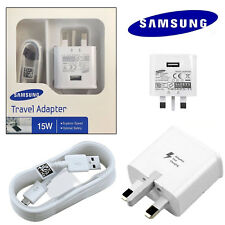 100% Genuine Fast Charger Plug & Charging Cable For Android Mobile Cell Phones