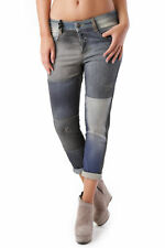 GR 69031 Blu jeans donna sexy woman sexy woman donna jeans con effetto sbiadito