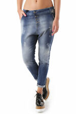GR 69088 Blu jeans donna sexy woman sexy woman donna jeans con effetto sbiadito