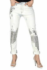 GR 84660 Bianco jeans donna sexy woman ;  sexy woman donna jeans made in italy: