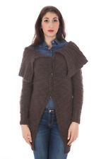 GR 59459 Marrone cardigan donna fred perry donna cardigan marrone fred perry con