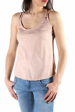 GR 86657 Beige top donna sexy woman ;  top made in italy: in tinta unita scollo