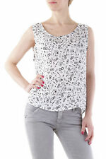 GR 72923 Bianco top donna 525 ;  525 donna top made in italy: senza chiusura <br