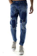 GR 73114 Blu jeans uomo absolut joy absolut joy uomo jeans made in italy: tasche