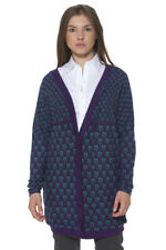 GR 70819 Viola cardigan donna ginger cardigan ginger con maniche lunghe bottoni