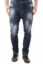 GR 71536 Blu jeans uomo absolut joy absolut joy uomo jeans made in italy: tasche
