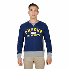 BD 74093 OXFORD-FLEECE-RAGLAN Blu Oxford University Felpa Oxford University Uomo