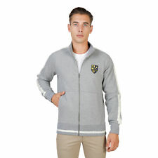BD 74084 TRINITY-FULLZIP Grigio Oxford University Felpa Oxford University Uomo G