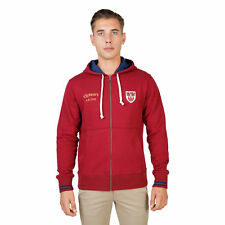 BD 74081 QUEENS-HOODIE Rosso Oxford University Felpa Oxford University Uomo Ross
