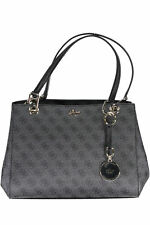 GR 85728 Gris bolso de mujer guess jeans ; mujer bolsa guess jeans 2 asas 1 ta
