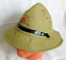 ffb5fa6d8b0 Russian Soviet Army Afghanistan War Uniform Panama Boonie Hat Red Star  Badge New