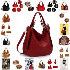 Ladies Hobo Shoulder Bag Faux Leather Handbags - AG00448
