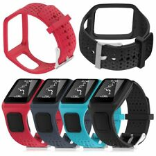 Replacement Silicone Wrist Band Strap ForTomTom Runner 2 3 Spark 3 GPS Watch ES