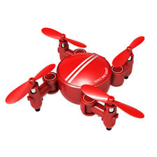Foldable Ultra Mini RC Drones Quadcopter Altitude Hovering Helicopter 3D Rolling