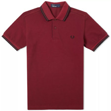 Fred Perry Slim Fit Twin Tipped Polo M3600 F23
