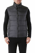 GR 83244 Gris chaleco hombre husky made in italy tejido echnical c
