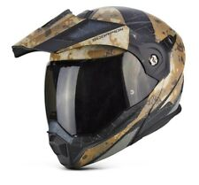SCORPION adx-1 Battleflag Touring Adventure Ribaltabile Casco motocicletta moto
