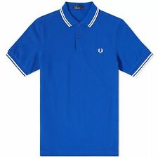 Fred Perry Slim Fit Twin Tipped Polo M3600 F80