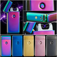 Lighter Electric Rechargeable Arc USB Windproof Flameless Dual Plasma Cigarette