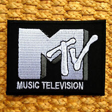 MTV RETRO MUSIC TELEVISION Iron On/Sew On Patch New