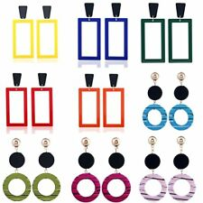 Summer Geometric Round Boho Dangle Drop Ear Stud Earrings Womens Jewellery New