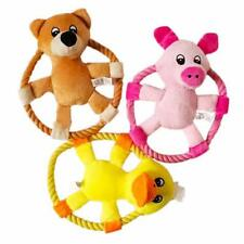 Chewing Toys Gnawing Dogs Toy Plush Frisbee Pets Durable Natural Cotton Plush