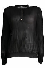 GR 81543 Negro camisa de mujer guess jeans ; guess jeans mujer camisas mangas -