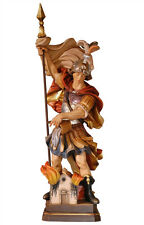Saint Florian statue wood carved