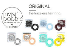 Invisibobble ORIGINAL Traceless Hair Band and Bracelet Ring -  choice of colours