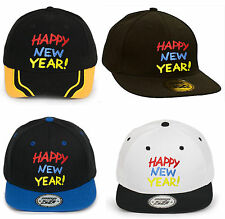 Uomo Donna Cappellino con visiera berretto da baseball casual Happy New Year