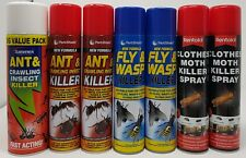 Moths Fly & Wasps And Other Insects Nests Instant Killer  Pest Control Sprays