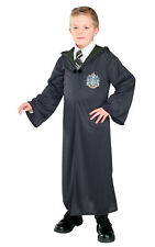 Kids Childs Slytherin Robe Fancy Dress Costume Outfit Harry Potter Official