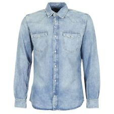 Camicia a maniche lunghe uomo Jack   Jones  DENIM SHIRT  Blu   6145034
